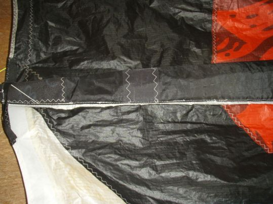Réparation kite